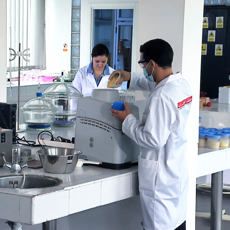 Quality control laboratory in Fes